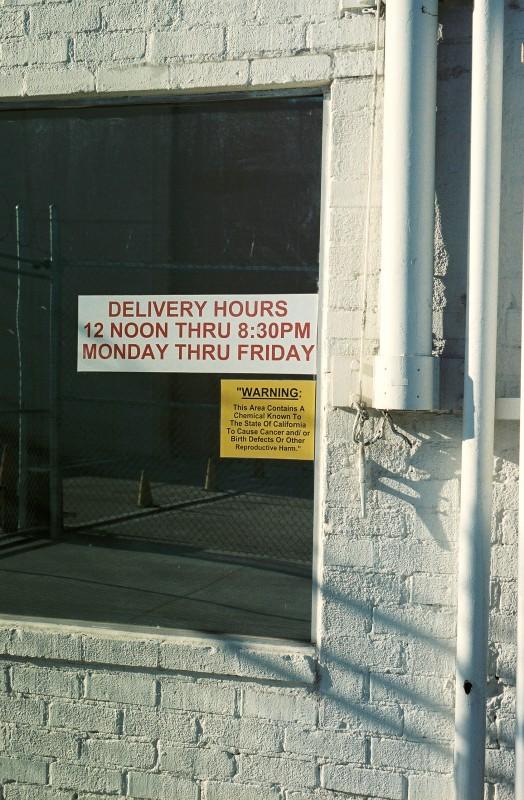 Delibery Hours