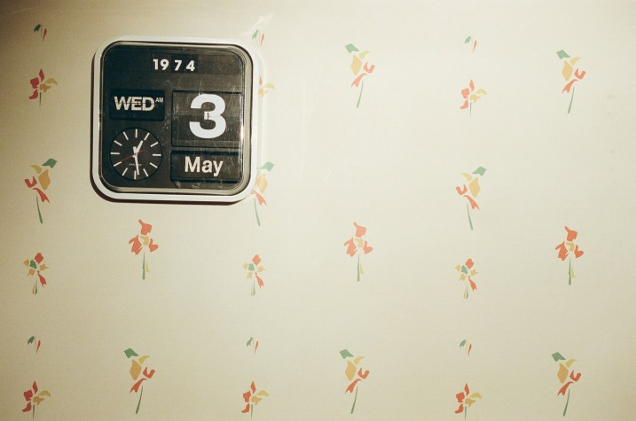 1974 clock copy
