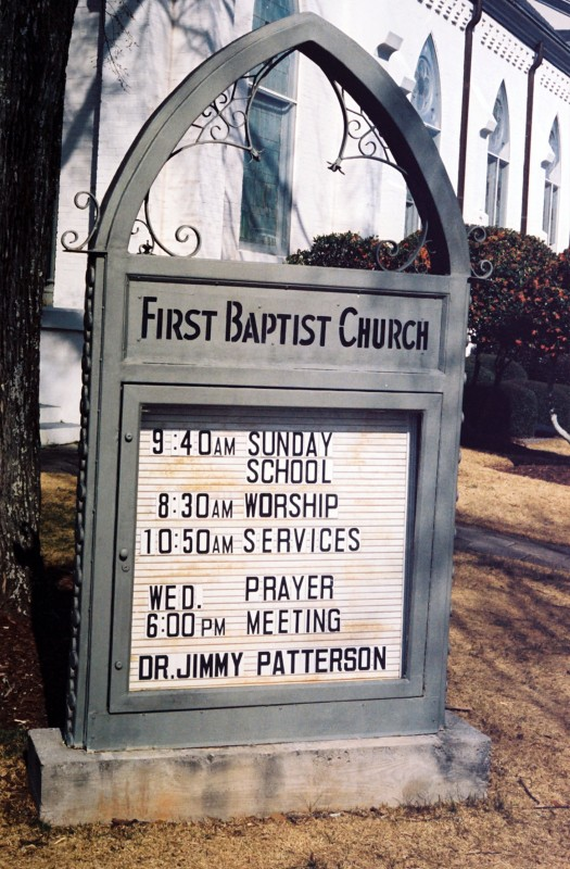 First Baptist Church 1